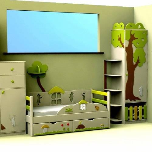 Детская комната «Муми-тролли»
