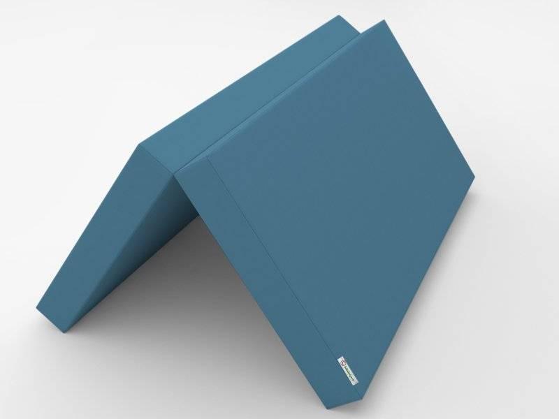 Голубой раскладной мат