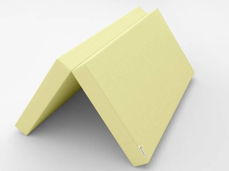 Желтый раскладной мат