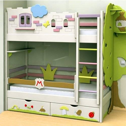 Кровати с декором