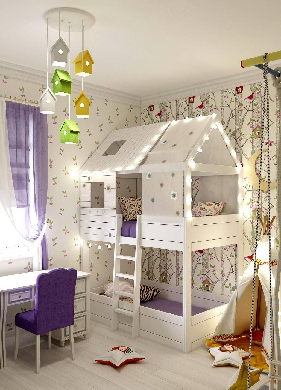 Кровать с домиком 1
