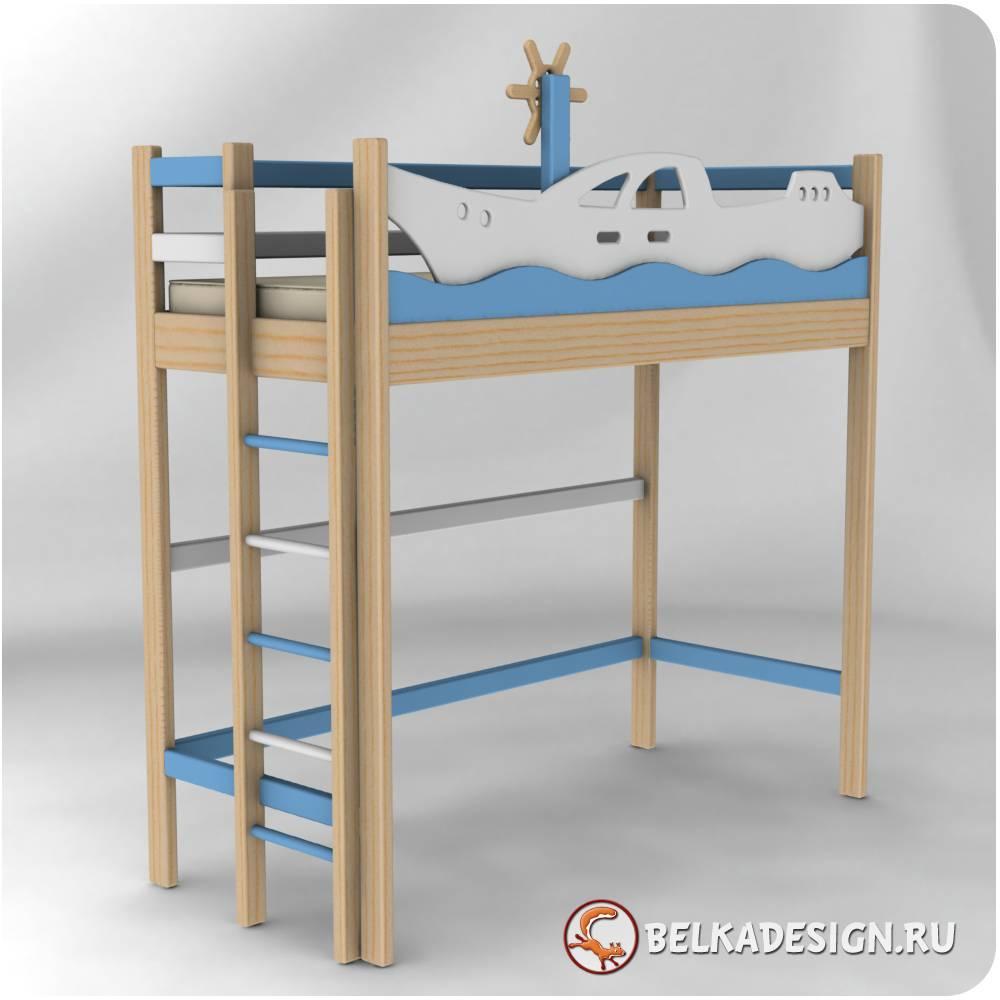 Кровать чердак 3