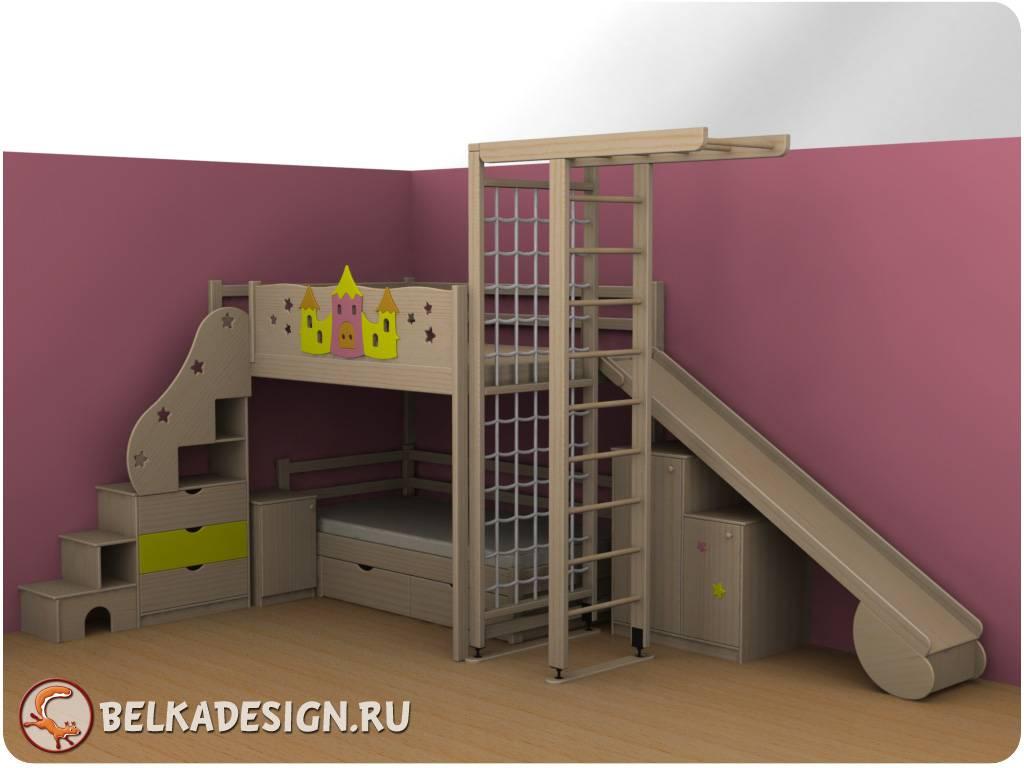 Лестница стеллаж 7