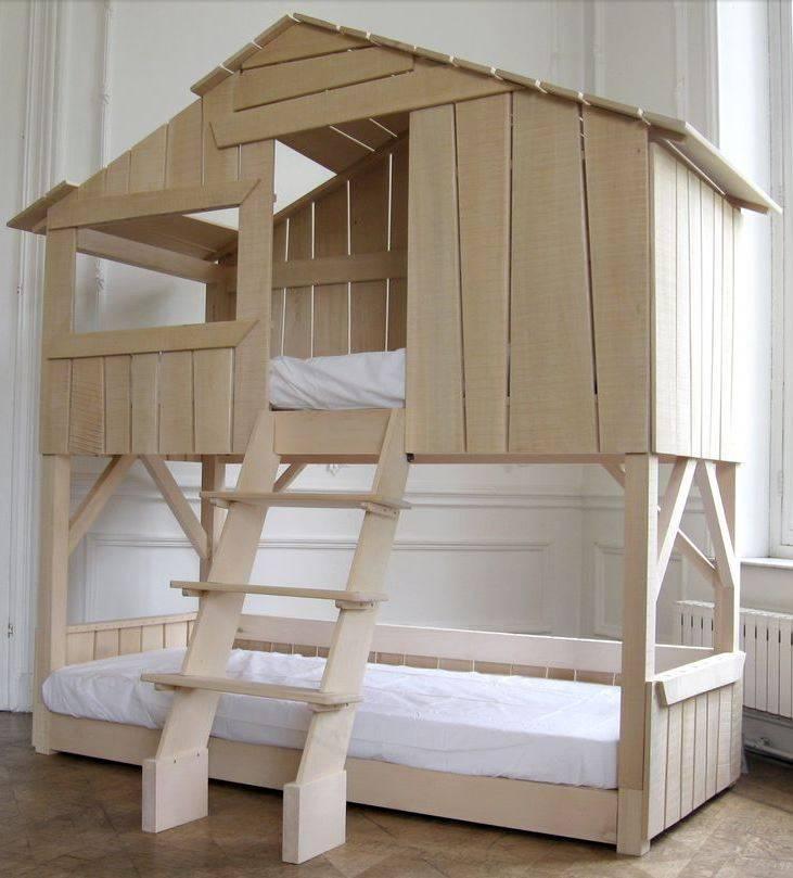 Кровать с домиком 3