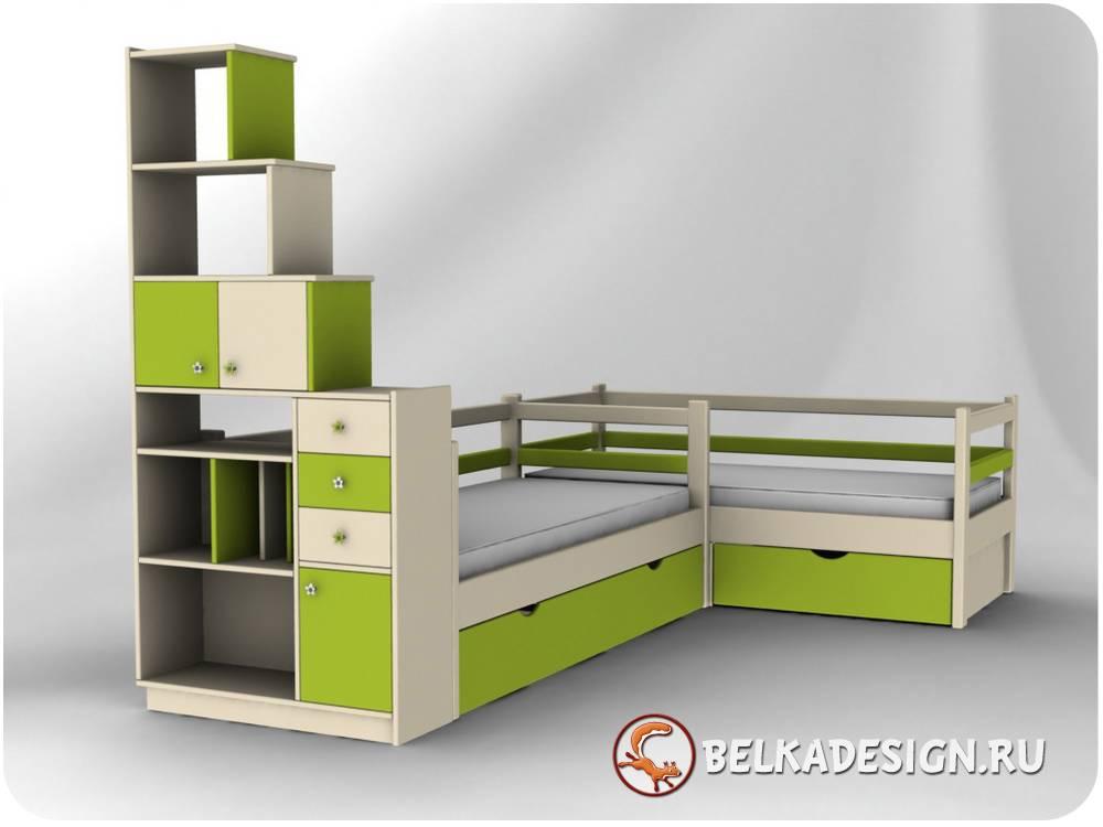 Кровать для двоих 2