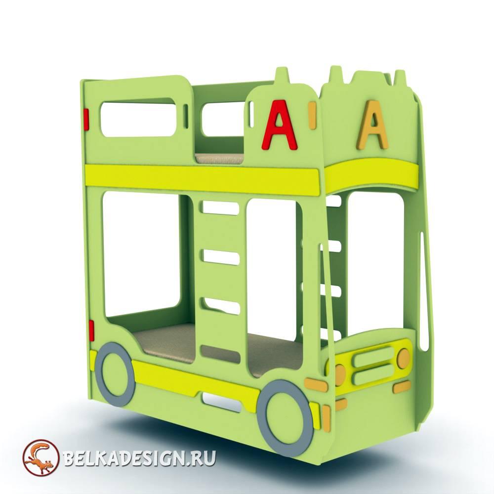 Кровать автобус 1
