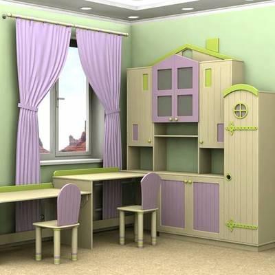 Выбор цветовой гаммы для детской комнаты