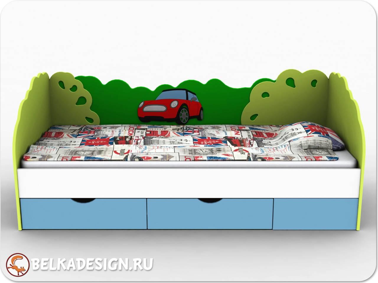 Кровать Лондон с машинкой
