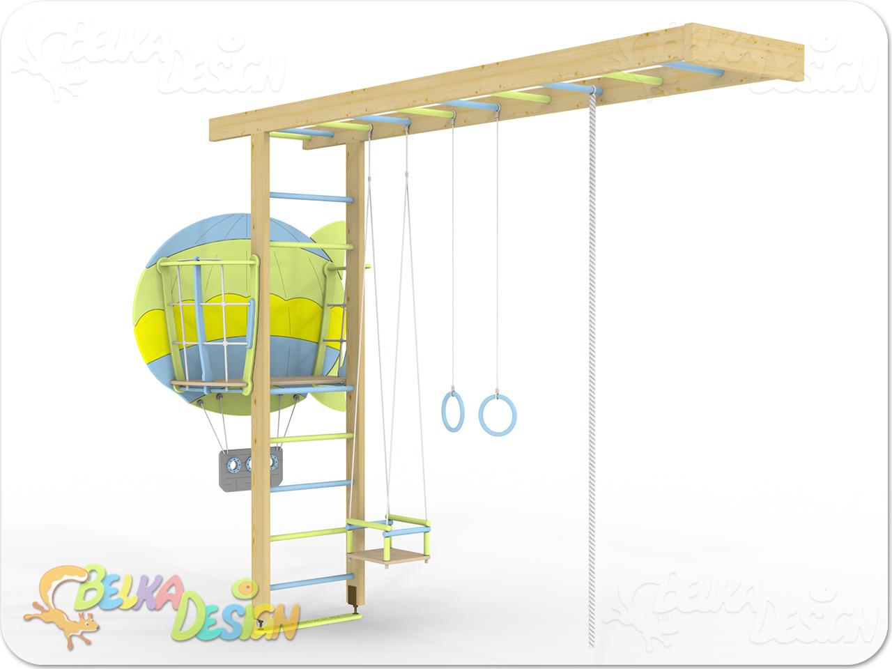 """ДСК """"Кораблик"""" с воздушным шаром"""
