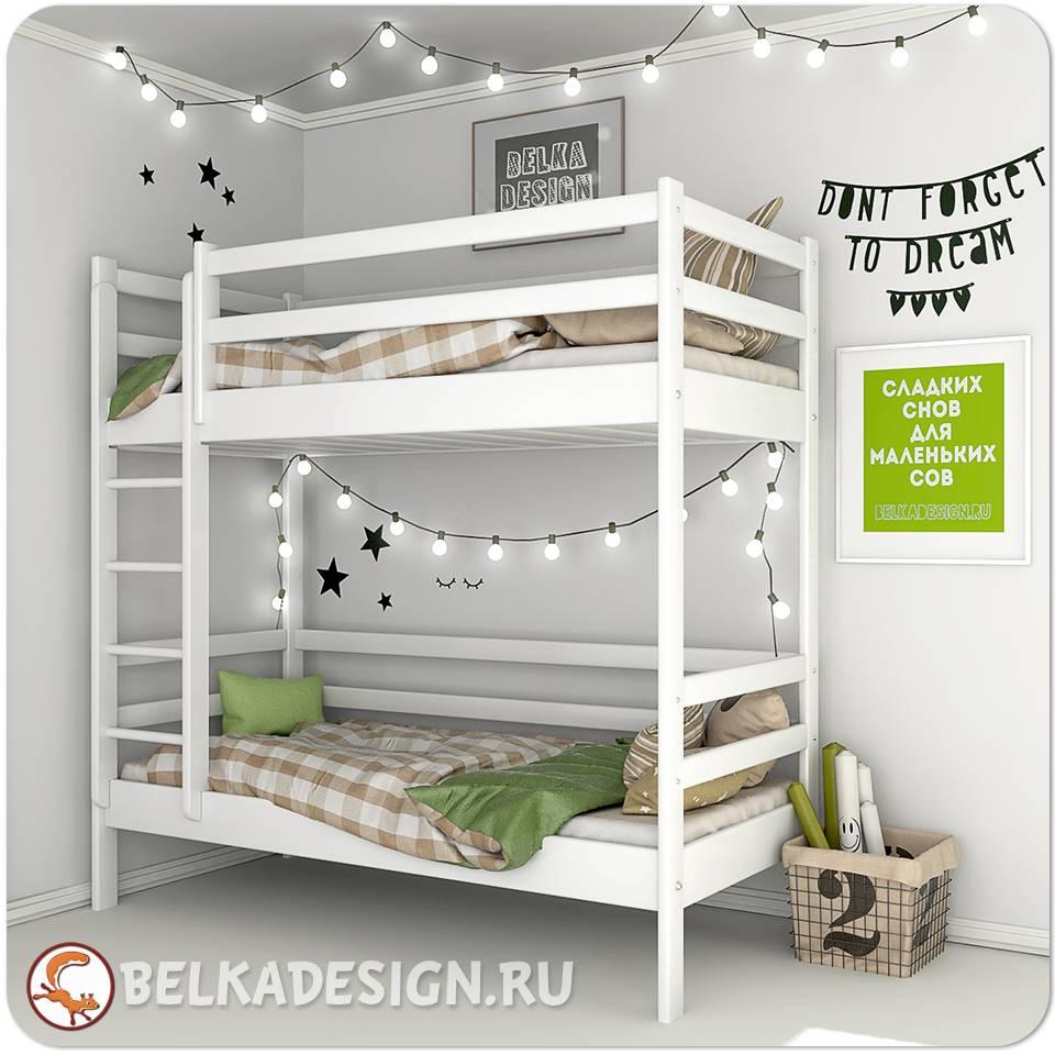 Кровать двухъярусная 0015