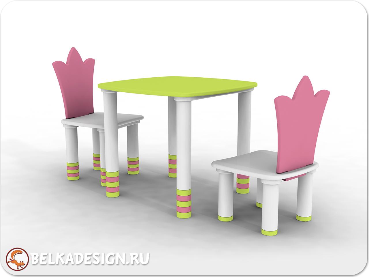 """Стол и стул """"Шатобриан"""""""