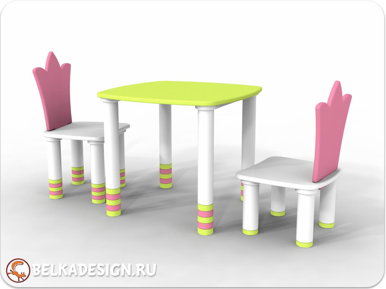 Стол и стул растущие