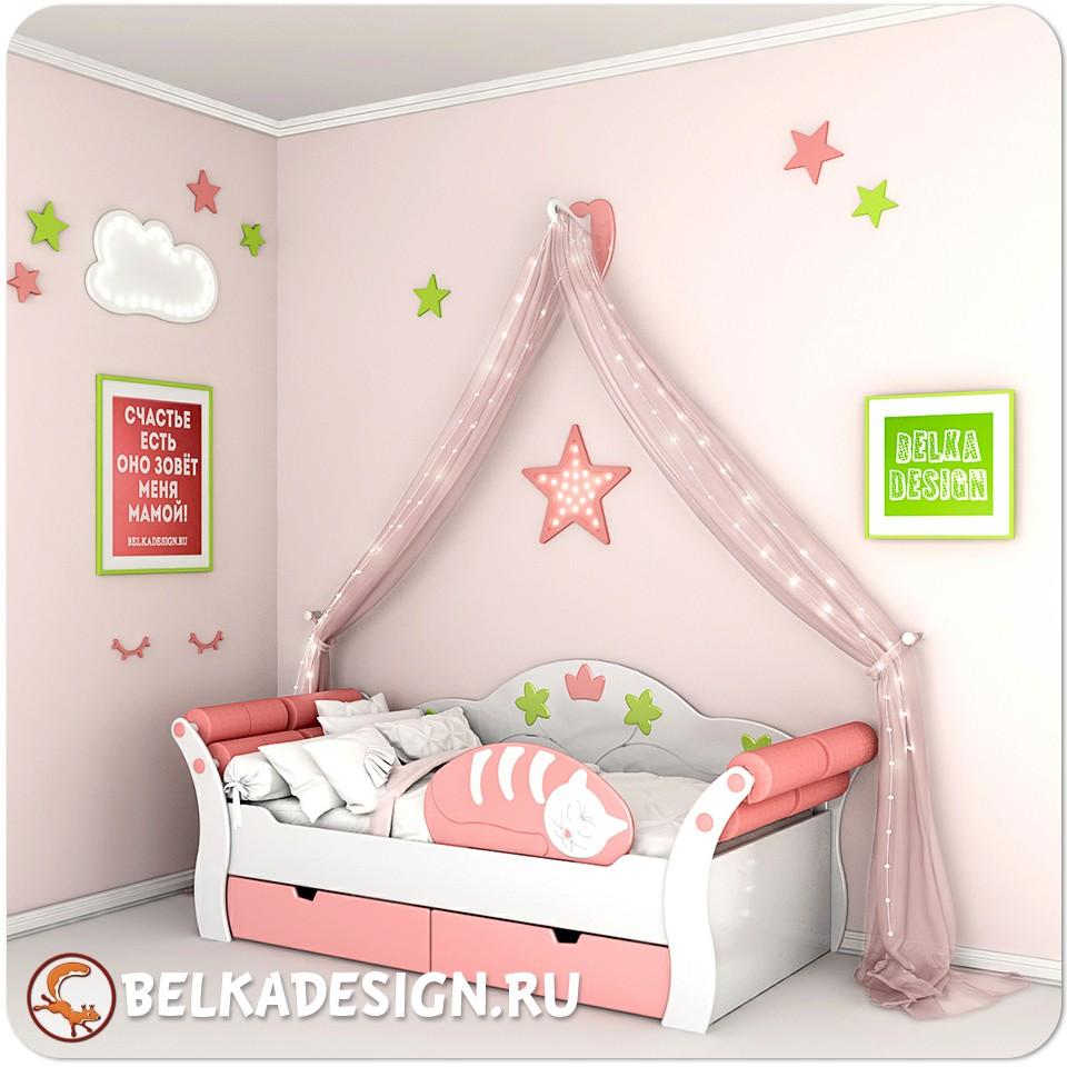 Кровать Принцесса Rose