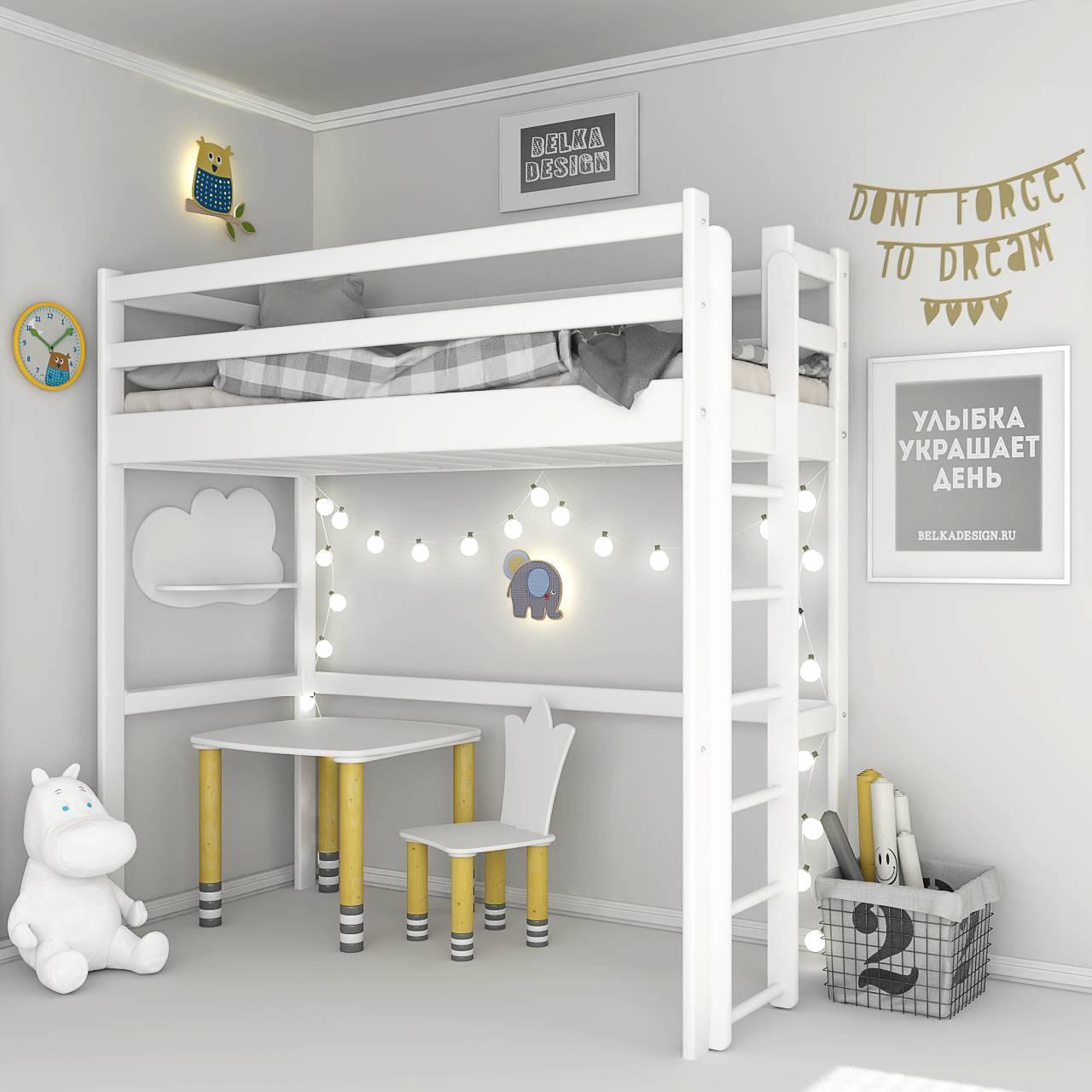 Кровать чердак 0026