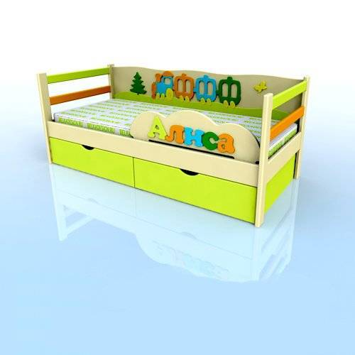 Кровать Артем-Алиса