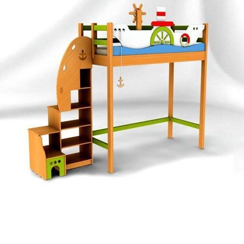Чердаки с мебелью