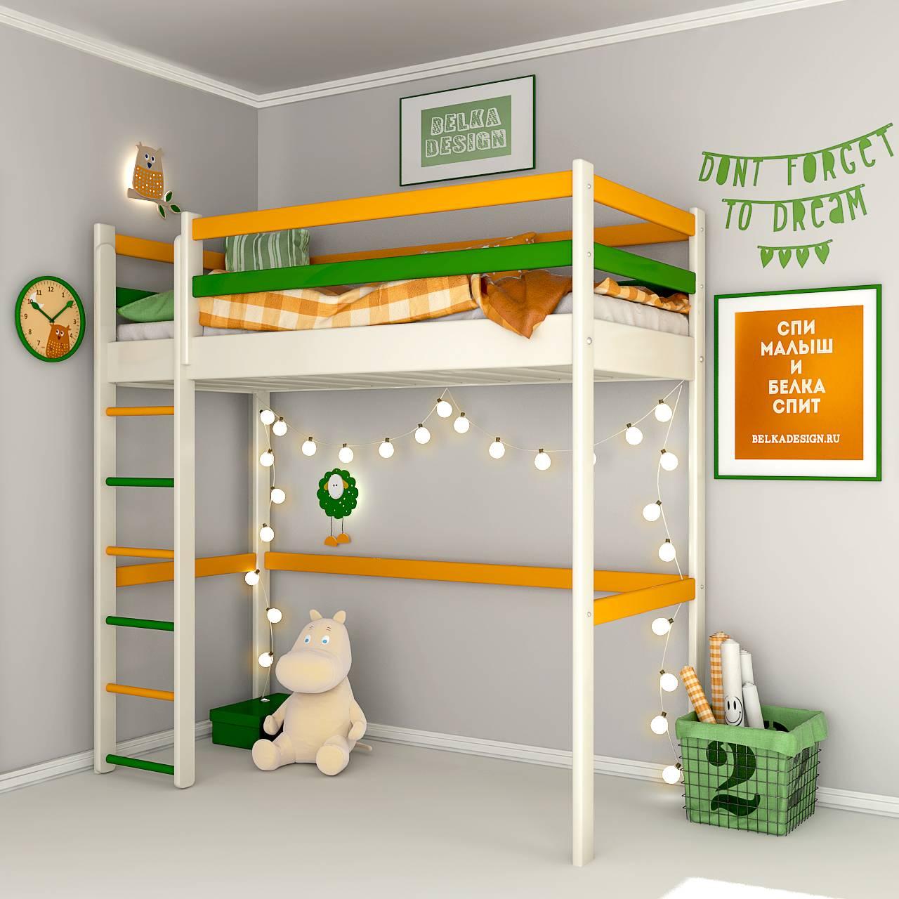 Кровать чердак 0028