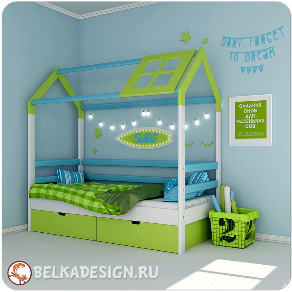 Кровать Кайтерский домик