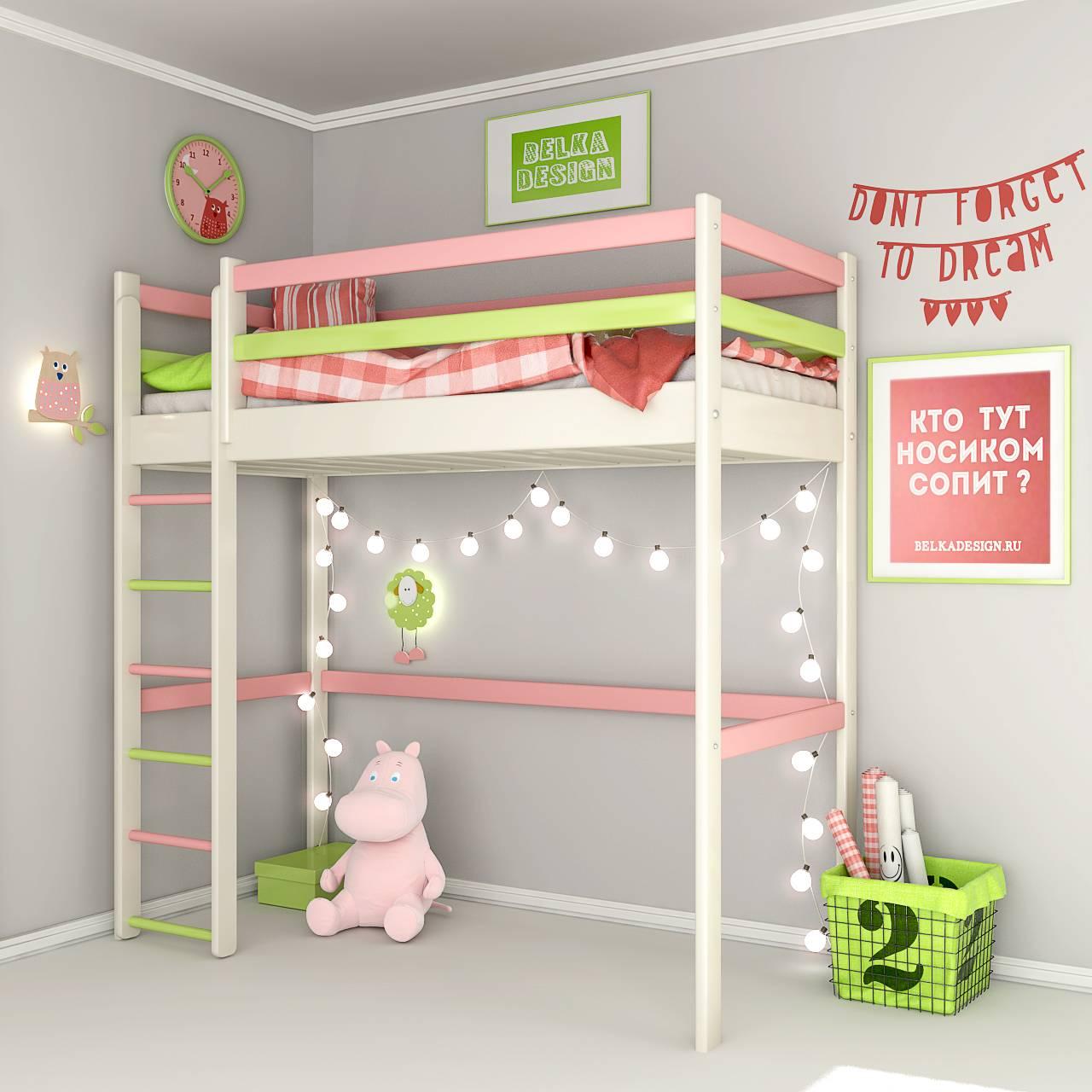 Кровать чердак 0027