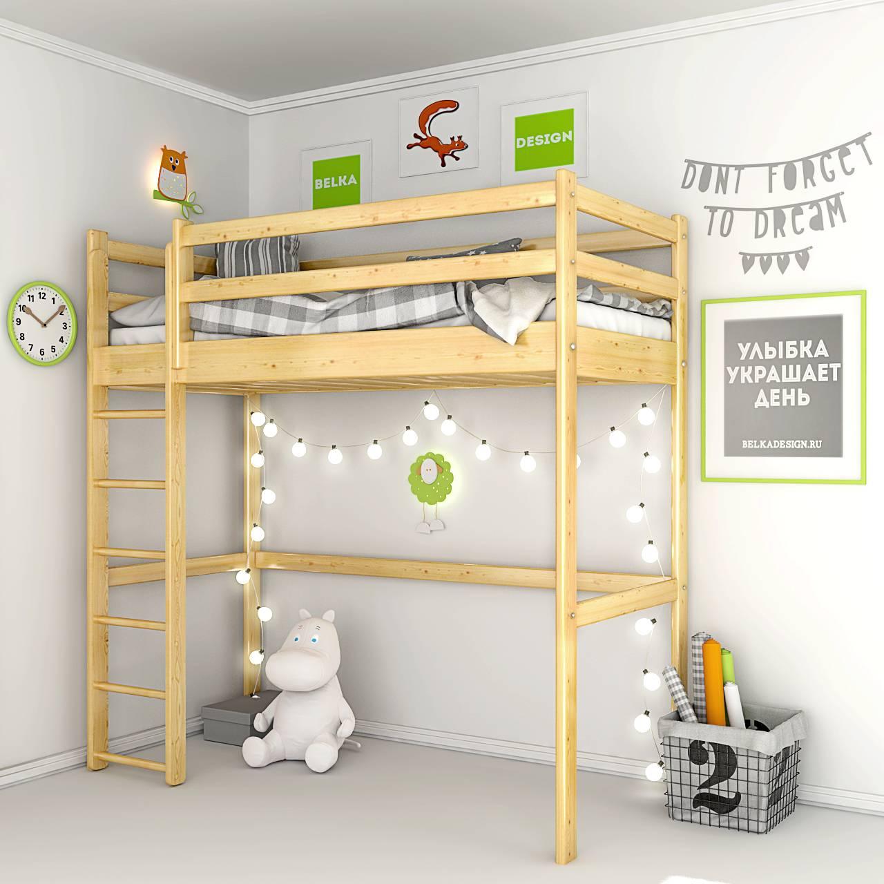 Кровать чердак 0020