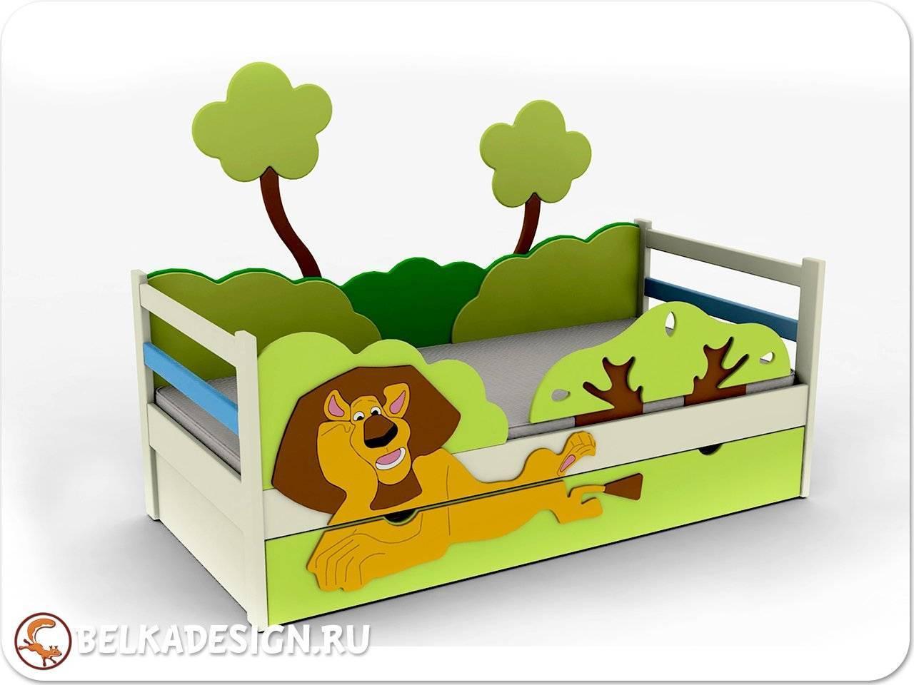 """Кровать """"Мадагаскар"""""""