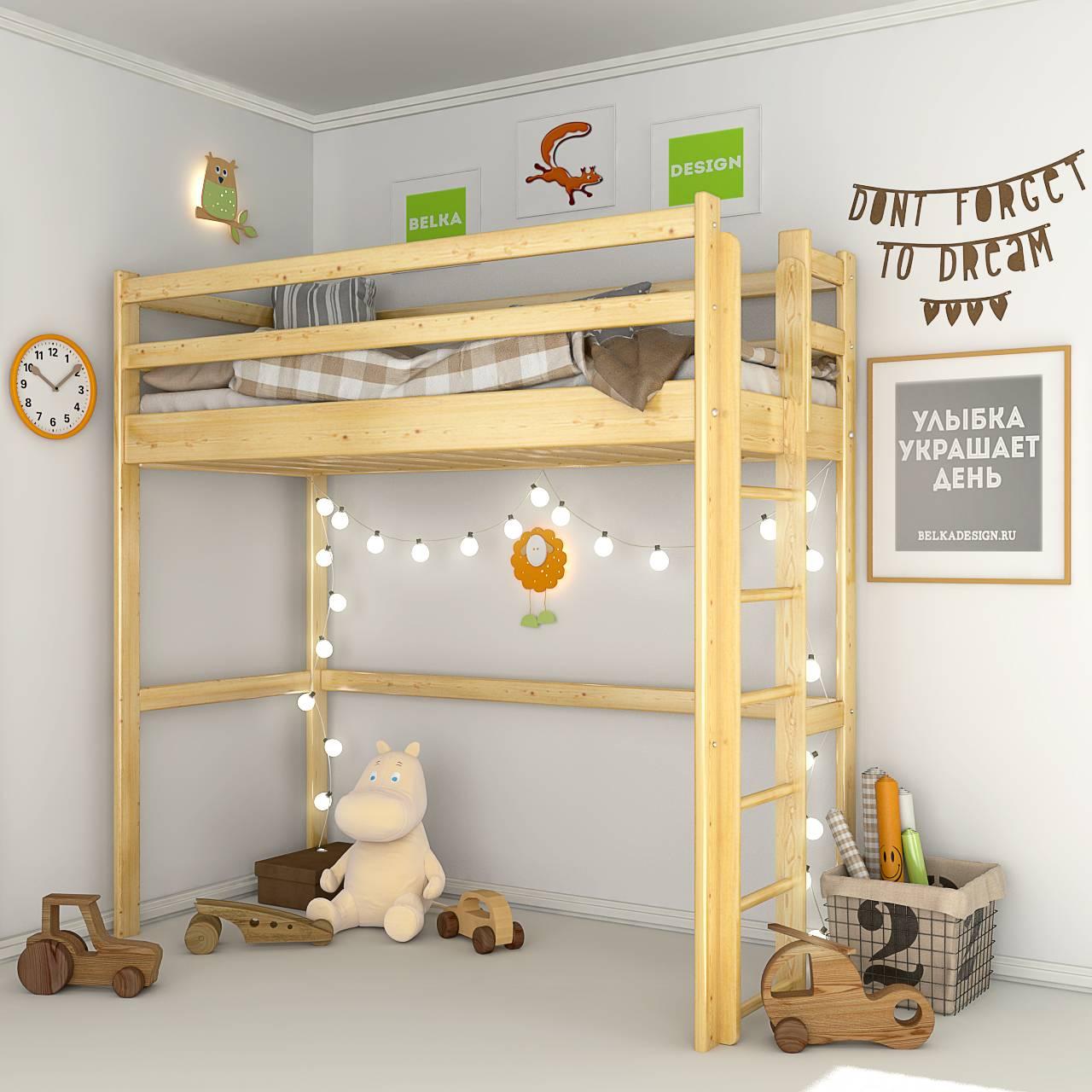 Кровать чердак 0021