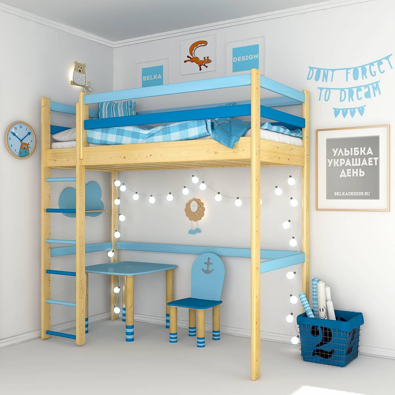 Кровать чердак 0022