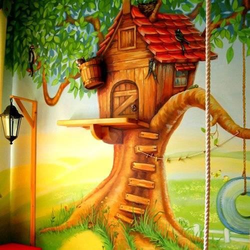 Домик на дерево
