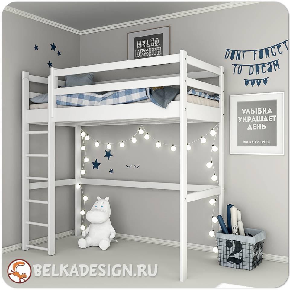 Кровать чердак 0025