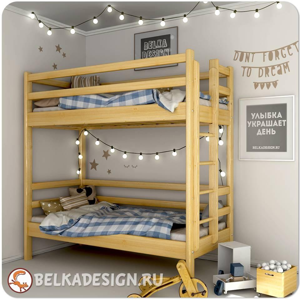 Кровать двухъярусная 0010