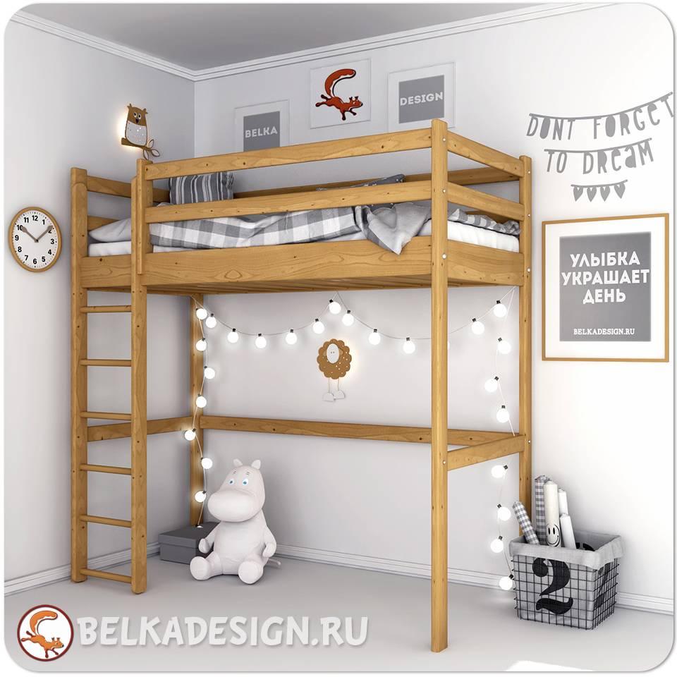 Кровать чердак 0020T