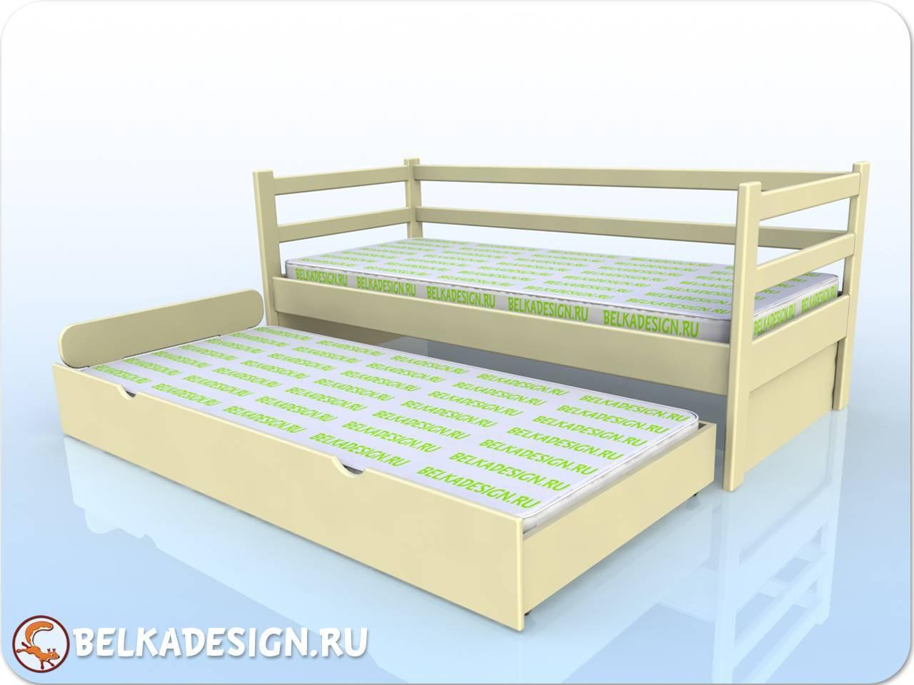 Кровать выкатная - эмаль