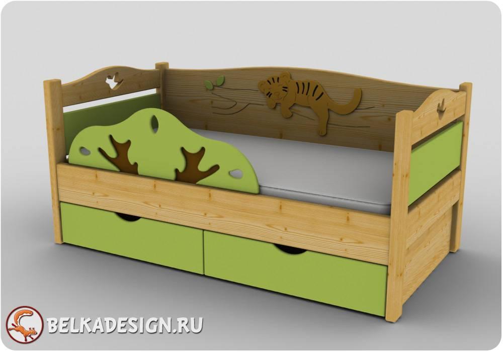 Кровати низкие 3