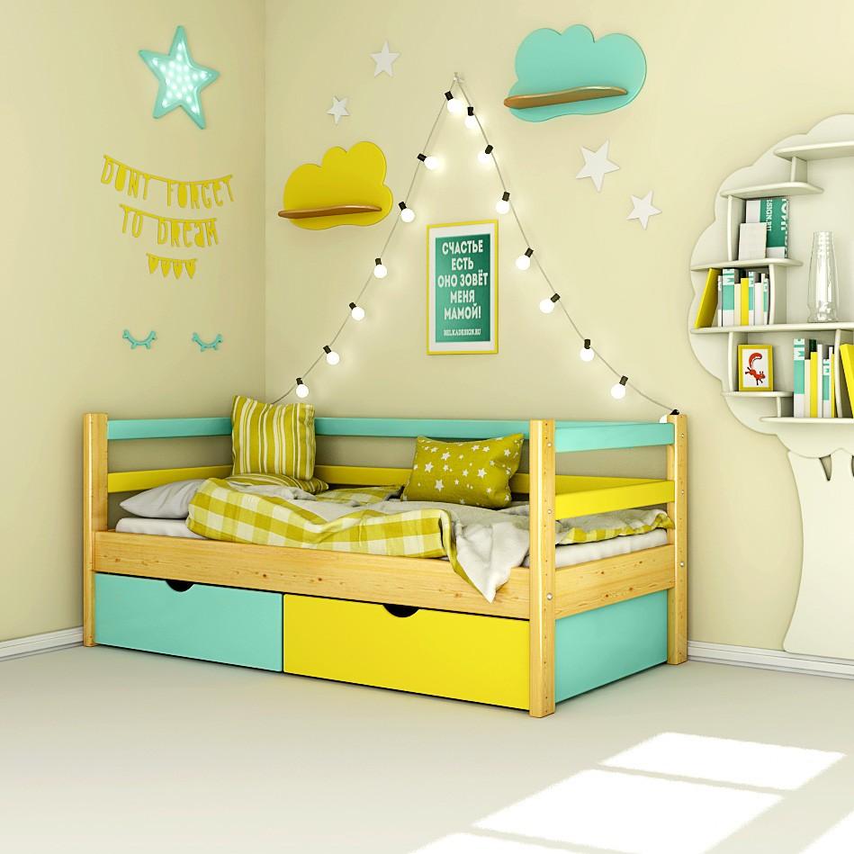 Кровать каркасная