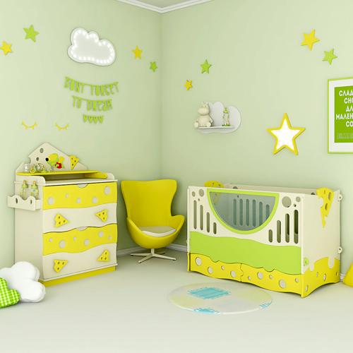 Младенческая мебель