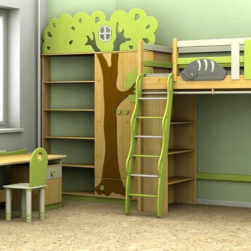 """Детская комната """"Ученый кот"""""""
