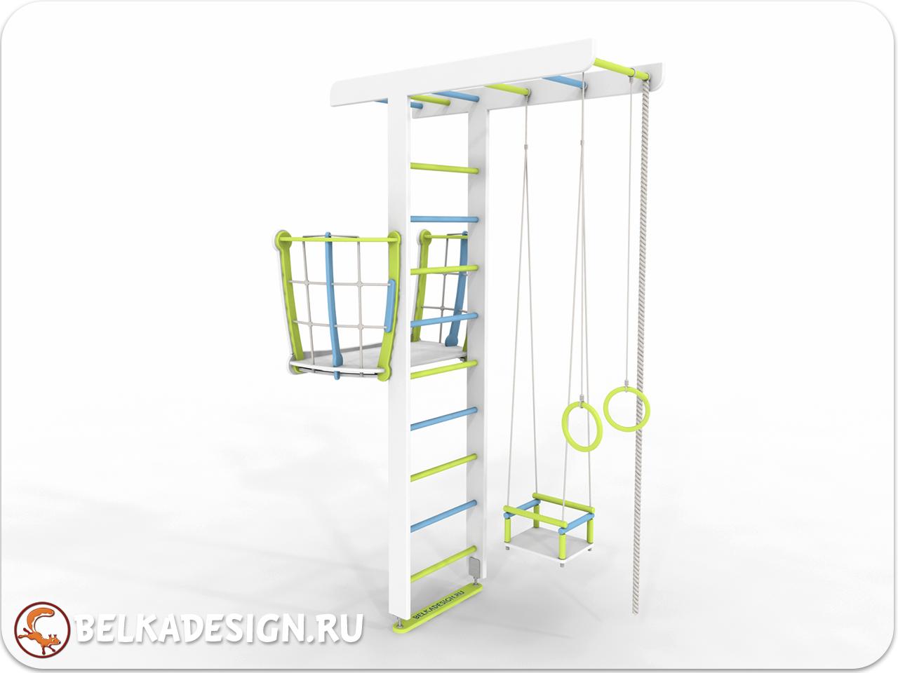 ДСК Бельчонок с балконом эмаль