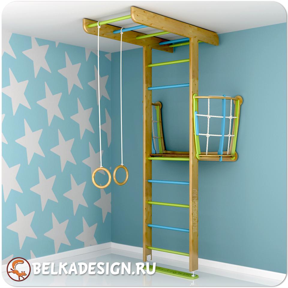 ДСК Бельчонок с балконом сосна