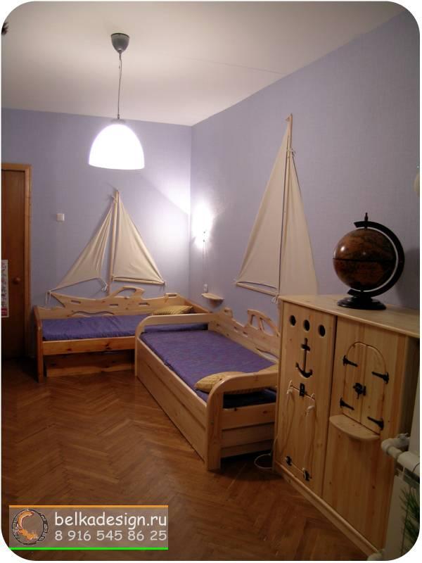 Кровать для двоих 1