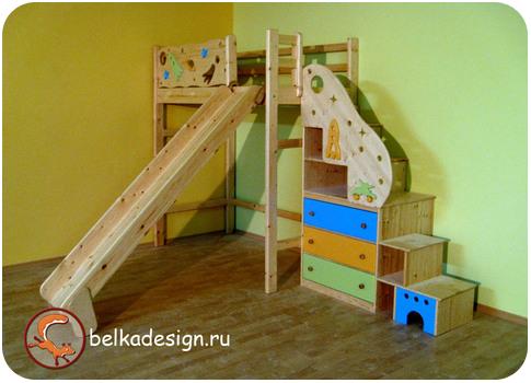 Мебель в детскую на заказ москва